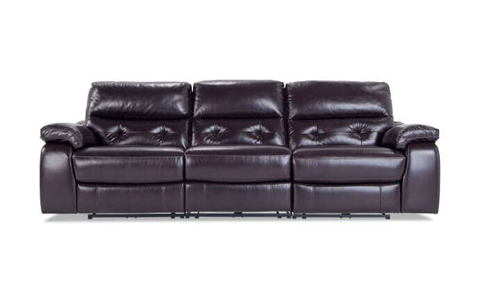 Excalibur Leather Power Reclining Sofa