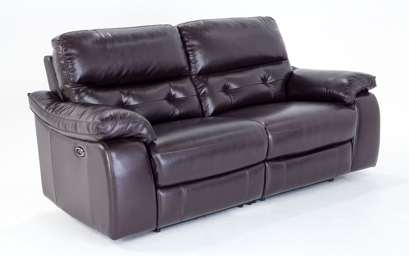 cannon at leather power furniture white from loveseat gardner reclining product