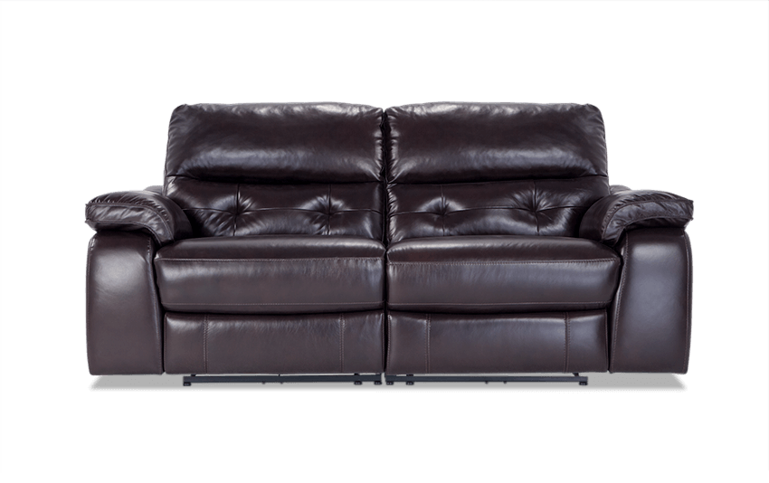 Excalibur Leather Power Reclining Loveseat