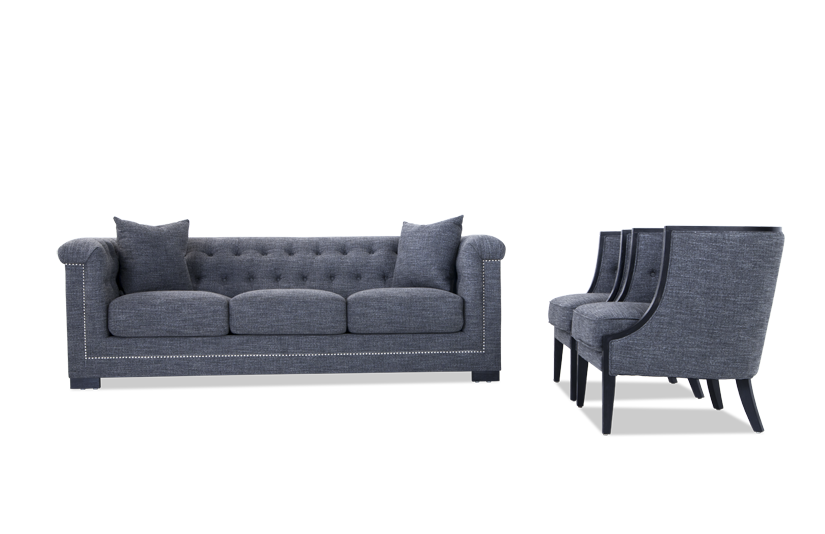 Melrose Sofa & Accent Chairs