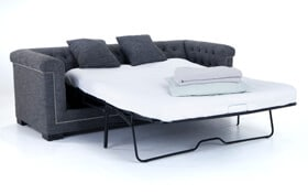 Melrose Queen Bob-O-Pedic Gel Memory Foam Sleeper Sofa