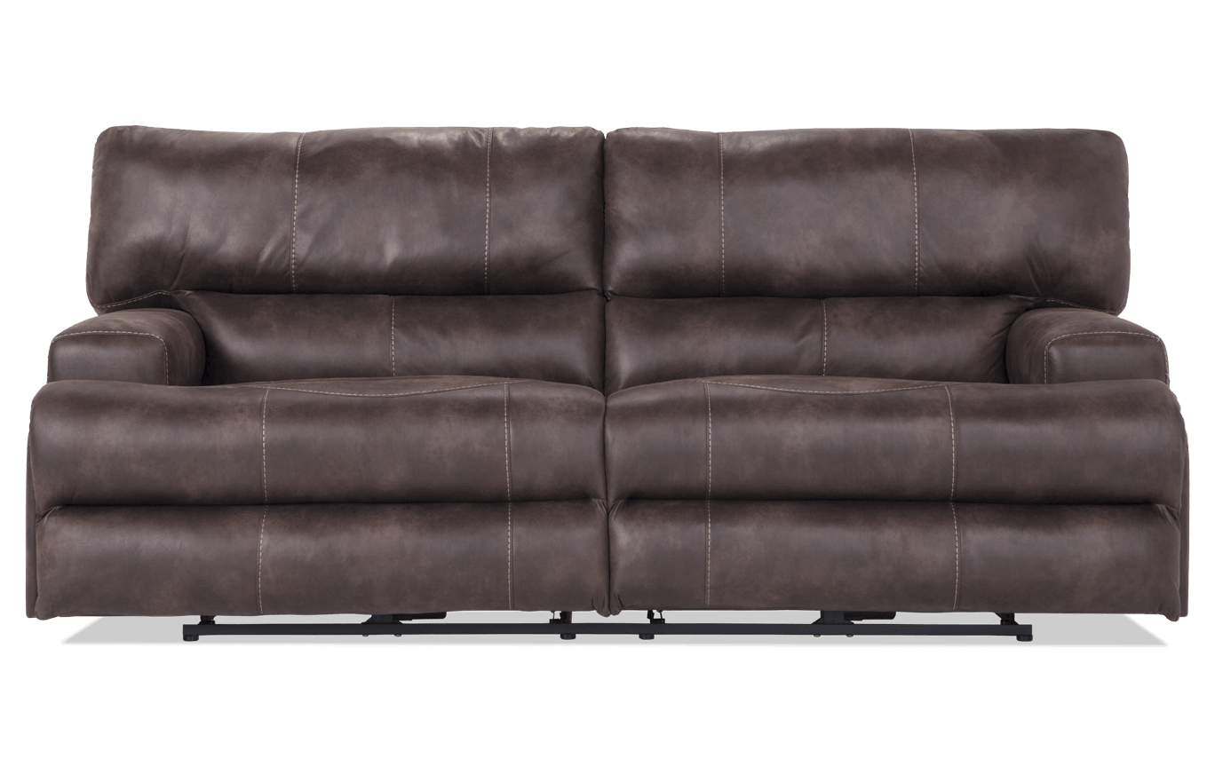 Bobs Furniture Leather Sofa Reviews Baci Living Room
