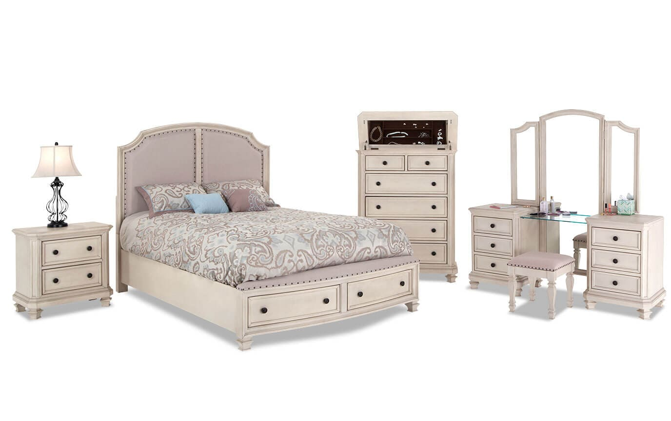 Euro Cottage Bedroom Set | Bob\'s Discount Furniture