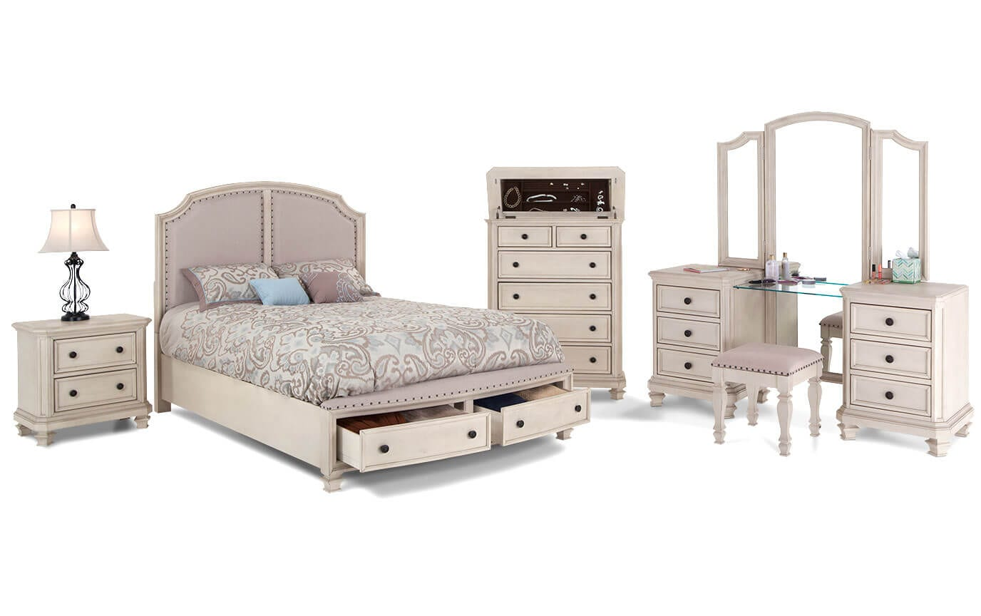Euro Cottage Bedroom Set Bob 39 S Discount Furniture