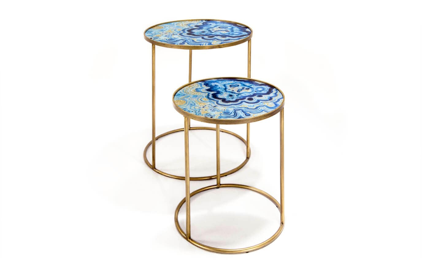 Agate Nesting Tables