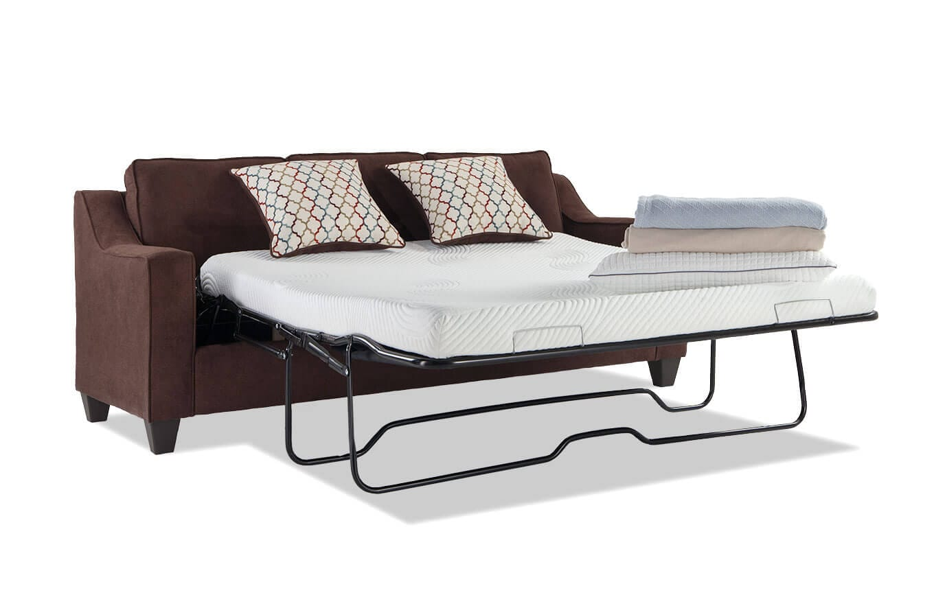 Fiesta Queen Bob-O-Pedic Gel Memory Foam Sleeper Sofa