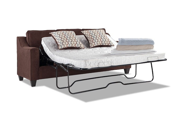 Fiesta Queen Innerspring Sleeper Sofa Brown