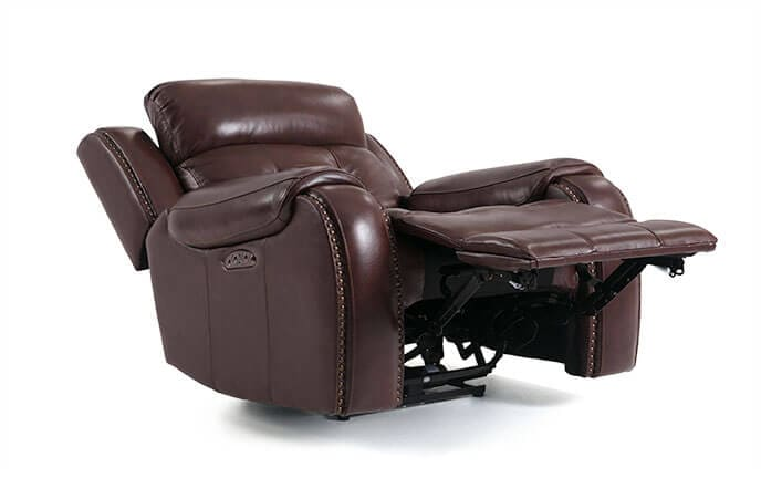 Magellan Leather Power Recliner
