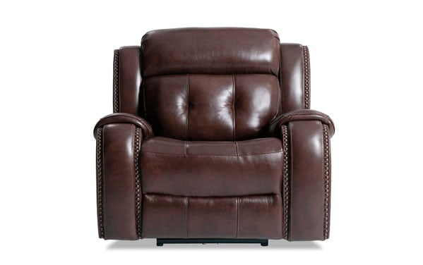 Magellan Power Reclining Leather Recliner