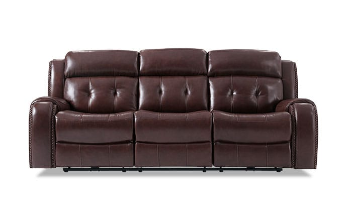 Magellan Power Reclining Leather Sofa ...