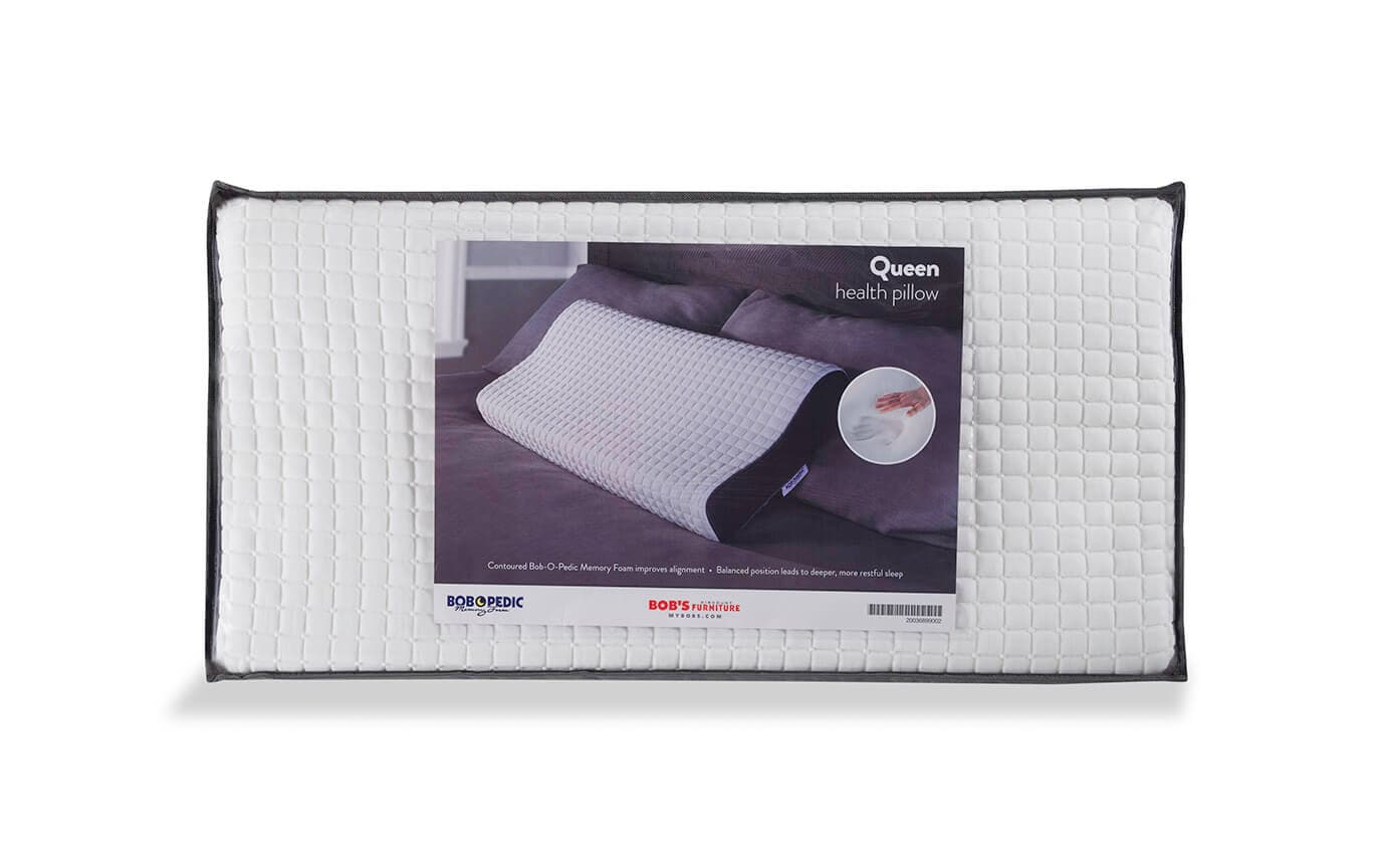 bob o pedic health pillow bob s discount furniture