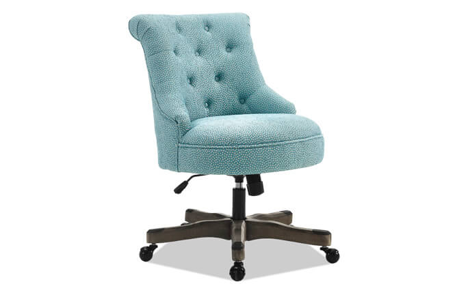 Ophelia Blue Office Chair