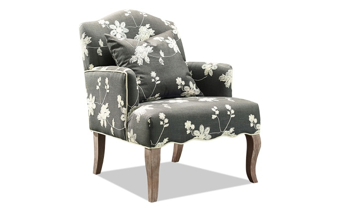 Floral Arm Chair
