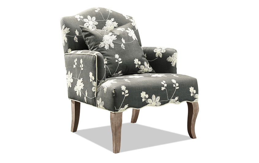 Floral Arm Chair