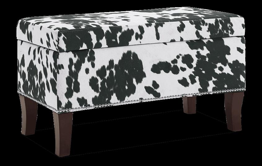 Alice Black Domino Bench