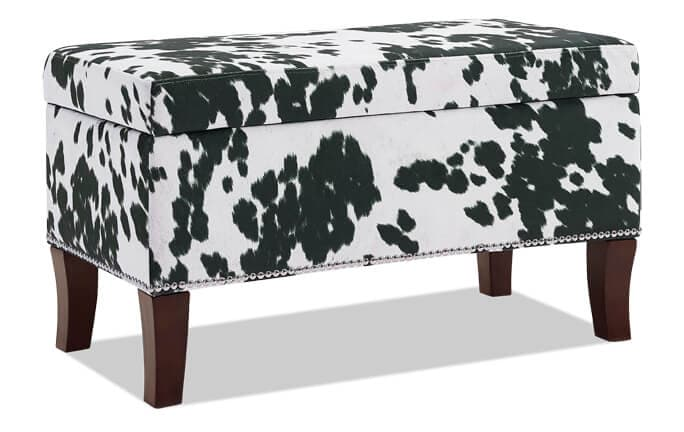 Alice Black Domino Bench