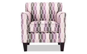 Clinton Lilac Accent Chair