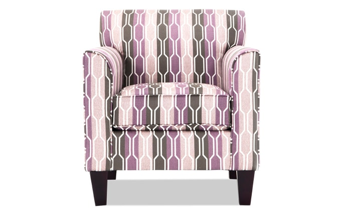 Clinton Lilac Accent Chair