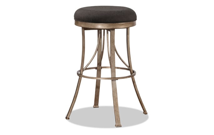 Josephine Backless Swivel Stool