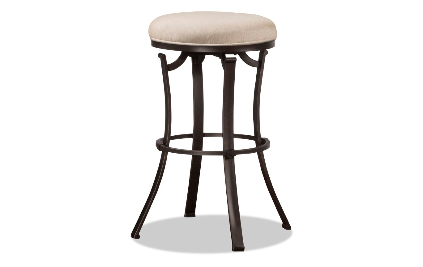 Vince Counter Backless Swivel Stool