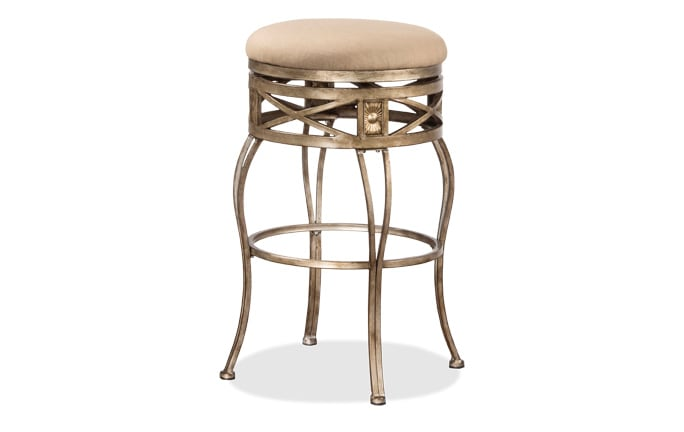 Helen Backless Swivel Stool