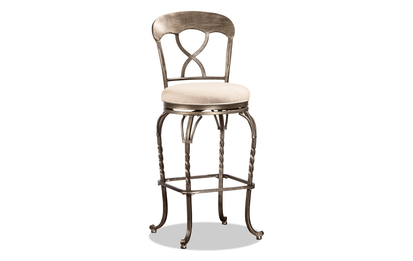 Jurgis Swivel Stool