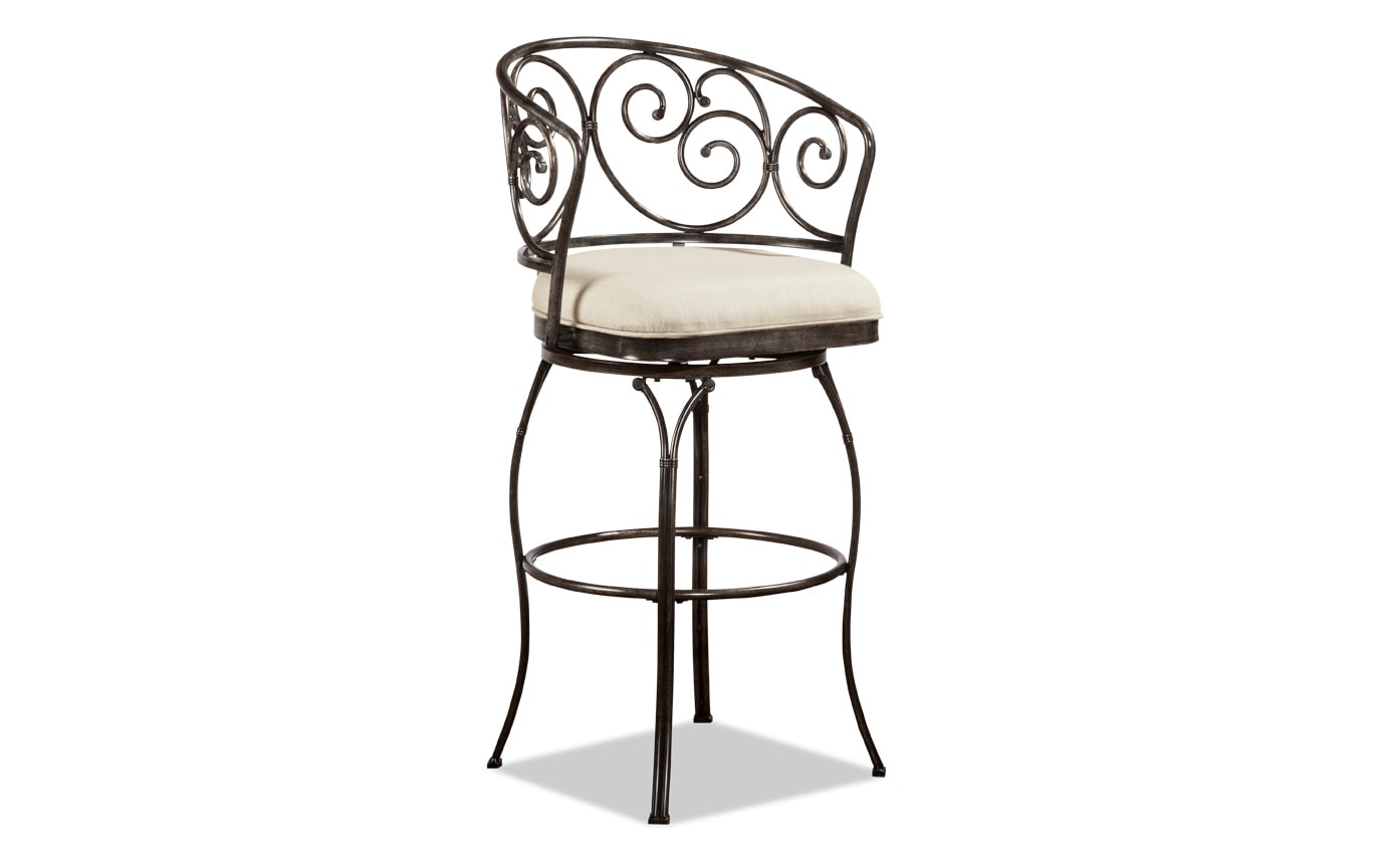 Jordana Swivel Stool