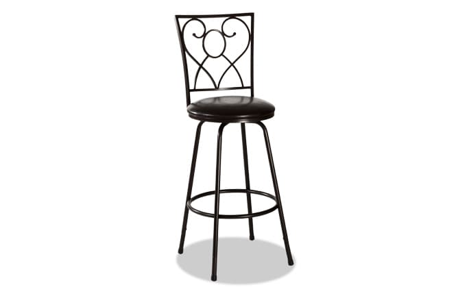 Heart Adjustable Swivel Stool