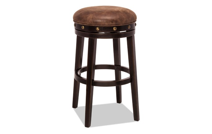 David Backless Swivel Stool