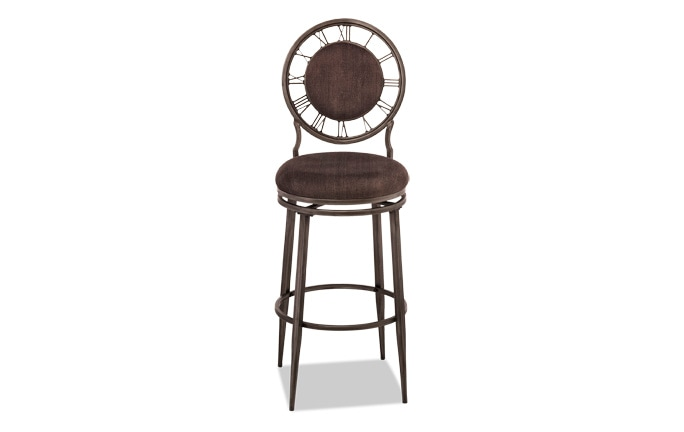 Clock Swivel Stool