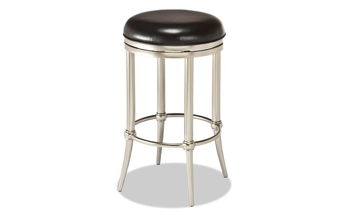 Trey Backless Swivel Stool