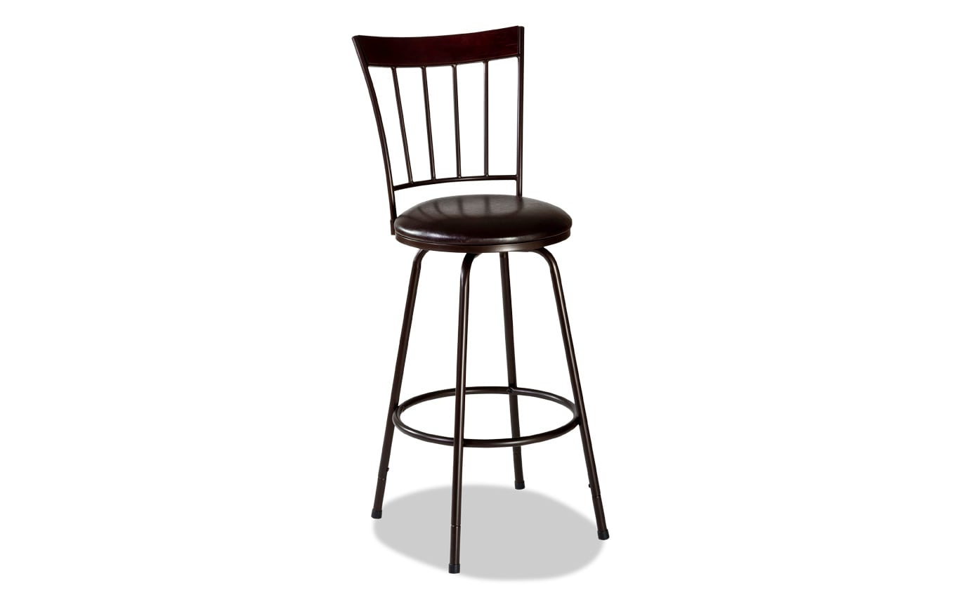 Flemming Adjustable Swivel Stool