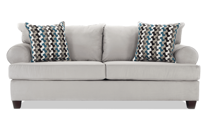 Tucker Silver Sofa