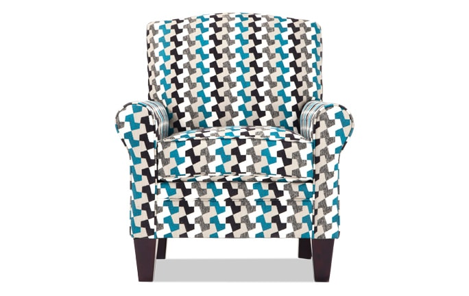 Tory Peekaboo Accent Chair