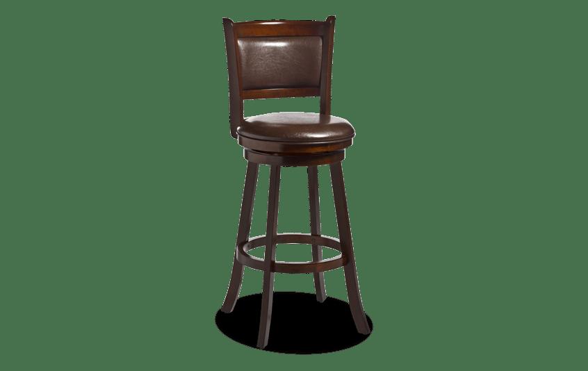 Denaris Brown Swivel Counter Stool