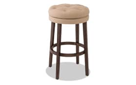 Paulina Linen Counter Swivel Stool
