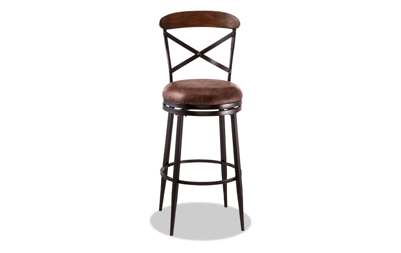 Emelia Swivel Counter Stool