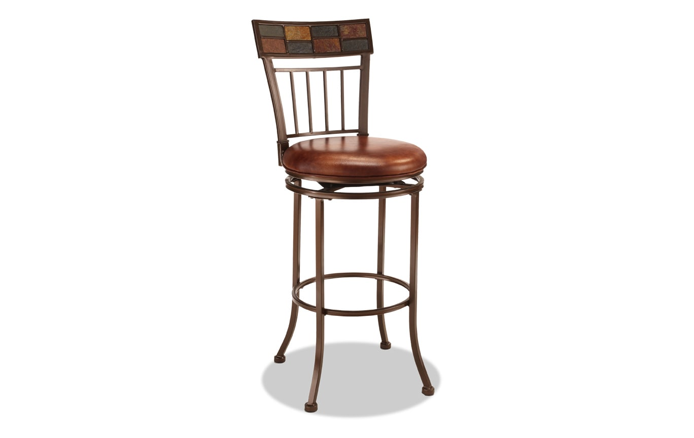 Mosaic Swivel Stool
