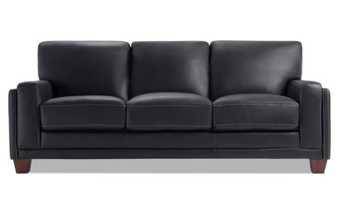 Cole Leather Sofa
