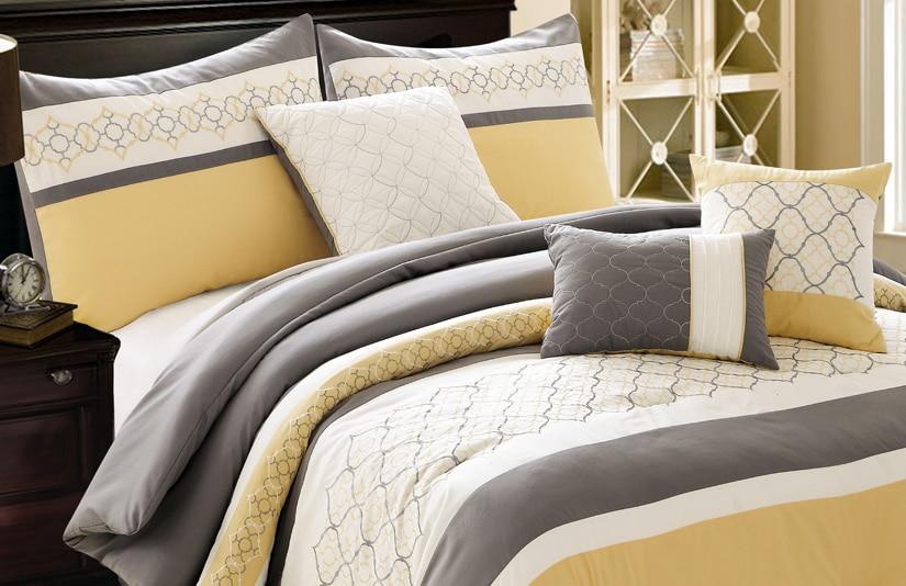 Barton King 7 Piece Comforter Set
