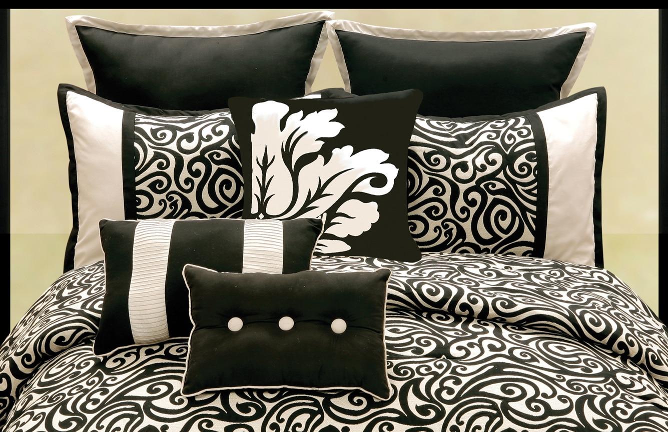 Mona 9 Piece Queen Comforter Set