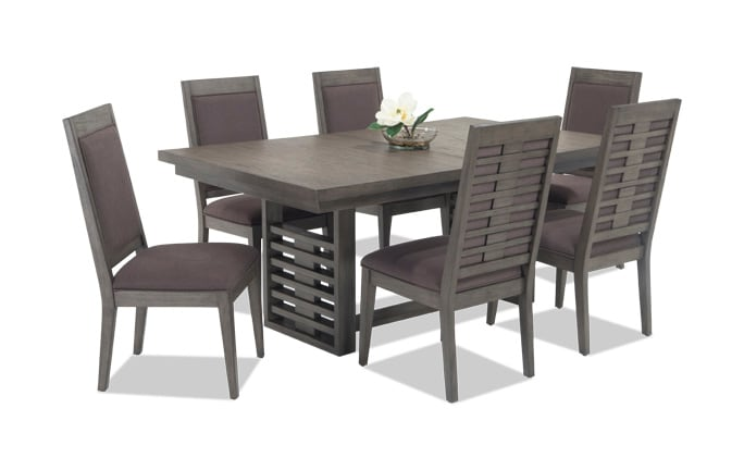Dining room sets bobs discount furniture essex 7 piece dining set workwithnaturefo
