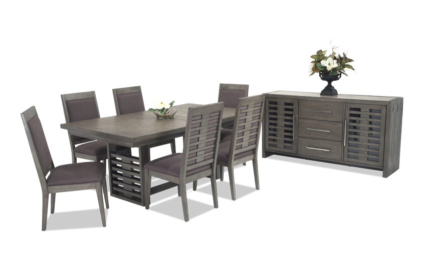 Essex 8 Piece Dining Set with Server