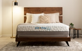 Bob-O-Pedic Sky Split Queen Firm Low Profile Mattress Set