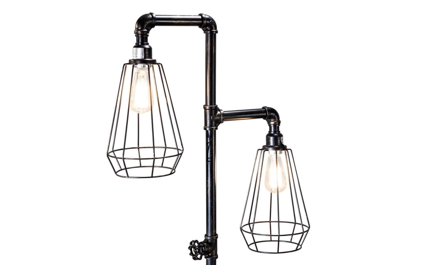 Pipeline Floor Lamp