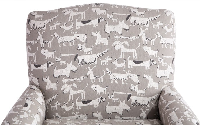 Elsa Puppy Accent Chair