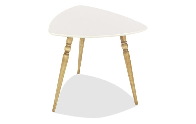Wood Tripod Accent Table