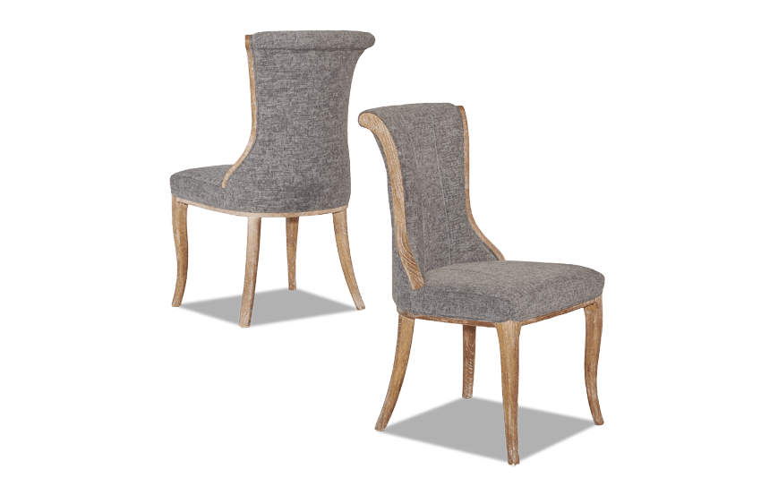 Portland Flared Back Chair Set of 2