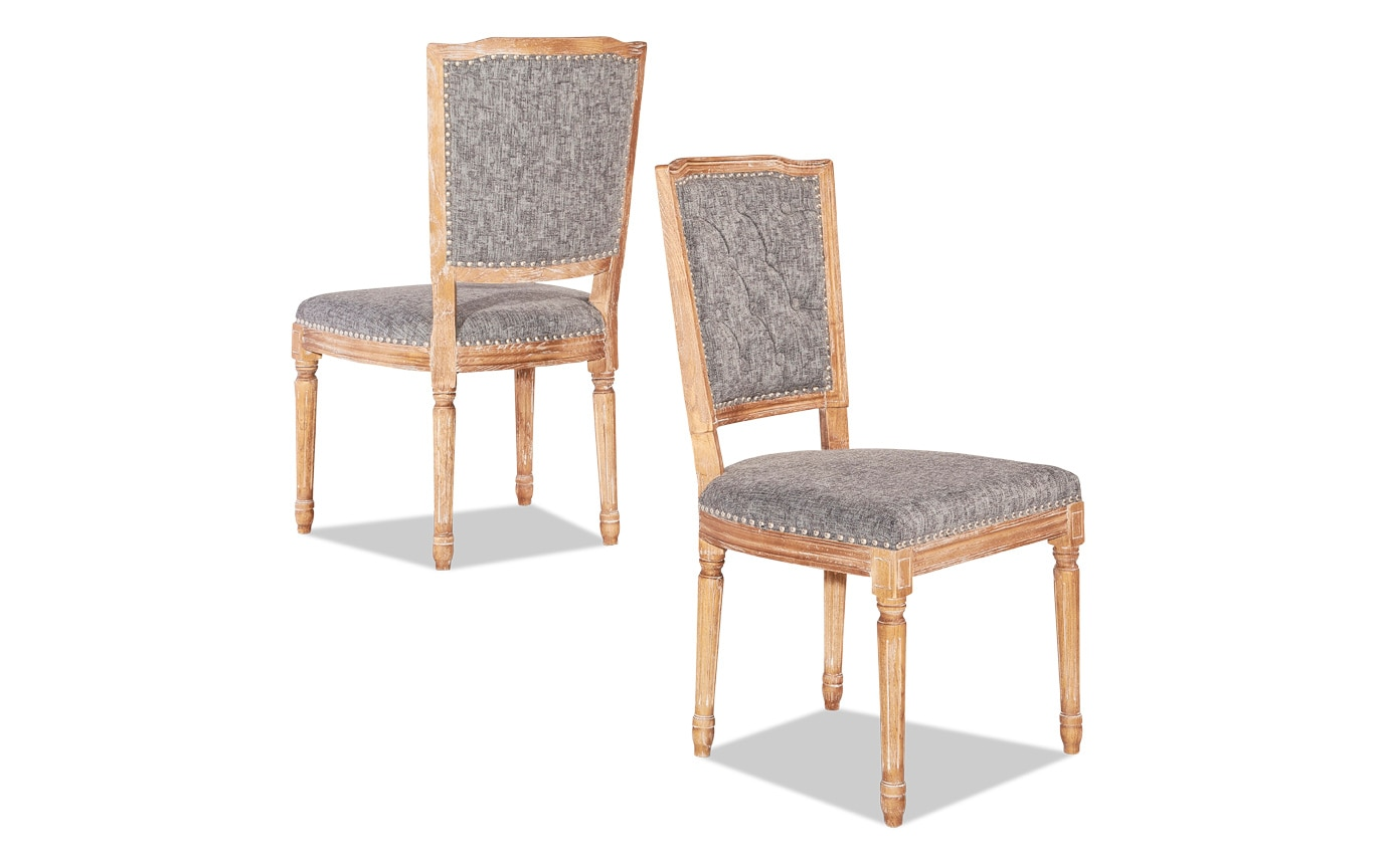 Cheshire Square Back Chair Set of 2