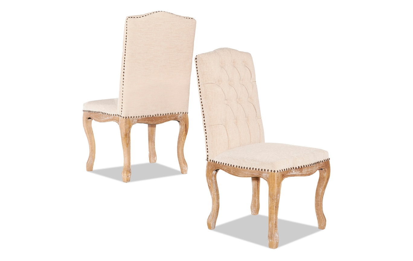 Set of 2 Dartmouth Square Back Chairs